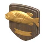 魚の壁飾り