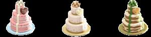 ウェディングなケーキ