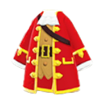 かいぞくのコート赤